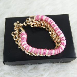 NIB | Avon | Pink & Gold Bracelet